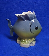 Vintage German Gerold Porcelain Bavaria Table Vase Fish #P