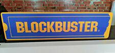 BLOCKBUSTER Aluminum Display Sign  6