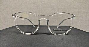 Dolce and Gabbana DG 5031 3133 49 18 140 clear/gunmetal  AUTHENTIC Eyeglasses