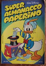 WALT DISNEY-SUPER ALMANACCO PAPERINO n.2-1°SERIE-MONDADORI-APRILE 1977