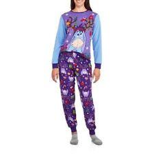 New Womens Disney Eeyore Pooh Ugly Sweater Pajama Outfit Christmas Pajamas XL
