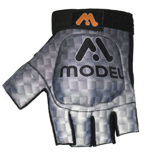 MODEL Field Hockey gloves Strong Shell Protection Left Hand Grey Palm Free