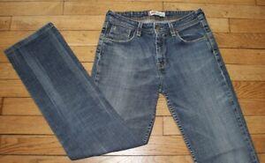 LEVIS 627 Jeans pour Femme W 28 - L 30 Taille Fr 38 Straight fit (Réf #O118)