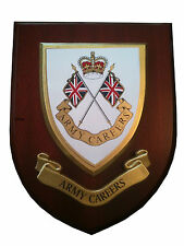 Army Careers Military Shield Wall Plaque