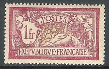 France 1900 Merson deep-lake/yellow-green 1f  mint SG306b
