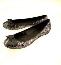 Exchange By Charles David Women's Size 8M Slip-On Ballet Flats Glitter Sparkle