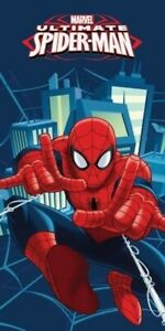 Spiderman Beach Towel Spider-Man Kids Children Swim 100% cotton Magic Licensed