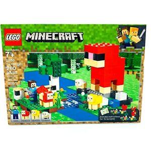 LEGO® Minecraft The Wool Farm Adventures Kit Set For Ages 7+ | 260 Pcs Set