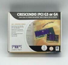 Brand New Sonnet Crescendo PCI/G3 300MHz/1M 167Mhz L2 Cache Mac PPCG3-300-1M