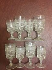Wine & Water Glasses ANCHOR HOCKING WEXFORD pattern
