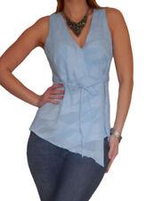 Maglie e camicie da donna camicetta con scollo a v, taglia 46