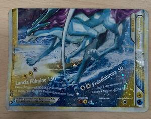 Raikou & Suicune Carte pokemon (leggenda, Energia Acqua E Fulmine, Rara)