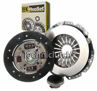 LUK 3 PART CLUTCH KIT FOR VAUXHALL ASTRA SALOON 1.7 TD