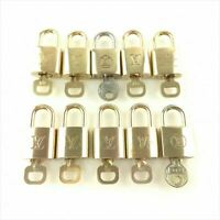 Used Louis Vuitton Pad Lock with key R090171 10 sets