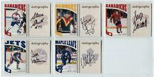 2004-05 ITG Franchises Canadian Autographs  #SSH Steve Shutt  Set Break
