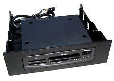 "PC Ordinateur Noir coque interne 5,25 ""Multi Card Reader Micro SD Trans Flash ect"