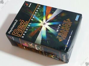 SONY PLAYSTATION PS2 REZ SPECIAL PACKAGE WITH TRANCE VIBRATOR SEALED PAL