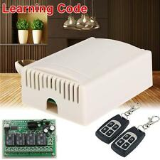 DC12V 4CH Channel Wifi Remote Control Radio Relay Switch Transceiver Receiver BY