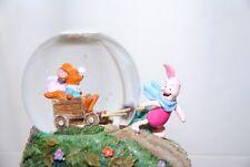 Disney Small Piglet & Roo Snowglobe