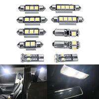 10Pcs/Set LED Light Bulb Kit Super Bright For VW MK4 Golf GTI Jetta 1999-2005