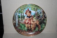 M. I. Hummel Friends Danbury Mint Porcelain Plate L0590 Gentle Friends