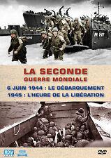DVD Seconde Guerre Mondiale 6 Juin 1944 Le débarquement & 1945 L'heure de la...