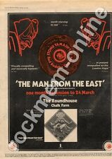 Stomu Yamashta Red Buddha Theatre The Roundhouse MM3 show advert 1973 #2 DEF