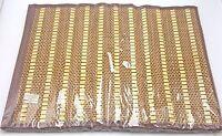 Bamboo Hawaiian Tiki Luau Placemats Set of 4 13x18 inch New