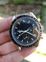 Mens Speed Chronograph Homage Watch Parnis moon luxury vintage Automatic