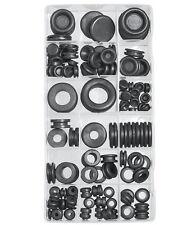 125 Pcs Rubber Grommet Assortment Firewall Hole Plug Set Electrical Wire Gasket