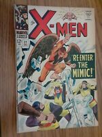 X-Men #27  7.5 1966   Re-Enter the Mimic