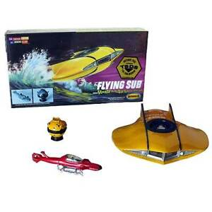 Voyage to the Bottom of the Sea Flying Sub Mini Model Kits-New in Box
