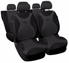 Car seat covers fit Seat Toledo black/grey full set