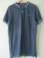 mens SUPERDRY NAVY COTTON POLO SHIRT SIZE XXL LONDON FIT