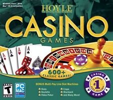 Hoyle Casino Games Best Seller PC Windows XP Vista 7 8 10 MAC DVD-ROM Sealed New