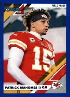 2019 Donruss NFL Football Variations Press Proof Blue Singles (Pick Your Cards)