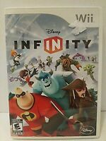 Wii Disney Infinity Game Nintendo 2006 Disney Great Condition w/manual