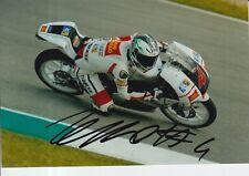 Francesco BAGNAIA Firmato a Mano 7x5 Foto San Carlo team Italia moto 3 MOTOGP 3.