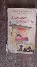 La magasin d'antiquité Charles Dickens  illustrations de A. Pécoud
