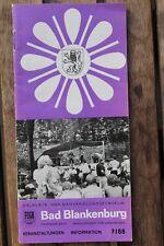 28550 Prospekt Veranstaltungen und Informationen Bad Blankenburg 7 / 1988