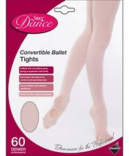 6ef49382d9420 Silky Childrens Girls Convertible Foot Dance Ballet Tights