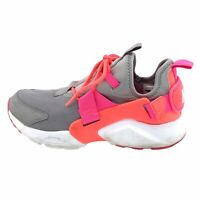 Nike Womens Air Huarache City AH6804 007 Gray Pink Running Shoes Size 10