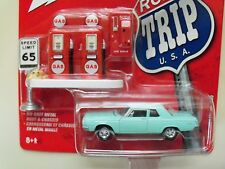 "JOHNNY LIGHTNING - ""ROAD TRIP U.S.A."" - 1964 DODGE 330 SEDAN - 1/64 DIECAST"