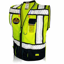Kwiksafety Specialist Ansi Class 2 Fishbone Safety Vest Old Sizing