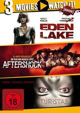 Eden Lake - Aftershock - Turistas - 3 DVD - FSK 18