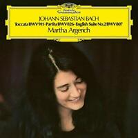Martha Argerich - J.S. Bach: Toccata c-moll / Partita Nr. 2 / Englische Suite