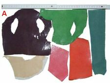Rochenleder Reststücke 100 g - Mehr-Farbenmix Lederreste Leder Reste