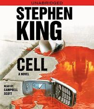 Stephen King Cell ...12 cd's unabridged audio book