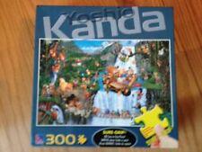 """Sure-Lox Sure-Grip 300 Pc Puzzle """"Yoshio Kanda In the Jungle"""" COMPLETE"""