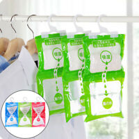 Desiccant bag household wardrobe closet hanging moisture absorbent dehumidifier*